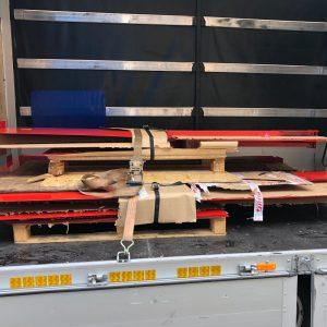 transporte de equipamiento